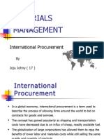 Joju - International Procurement