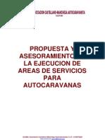 DOSSIER AREA DE AUTOCARAVANAS