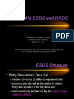 04 - VSAM ESDS and RRDS