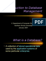 06 - Introduction to Database Management