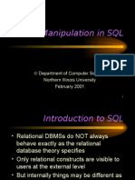 11 - Data Manipulation in SQL