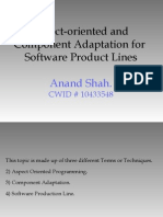 Aspect-oriented and Component Adaptation for Software Product Lines