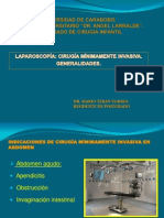 Seminario de Cirugía Laparoscópica.