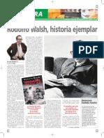 Juan Sasturain - Rodolfo Walsh, historia ejemplar (articulo)