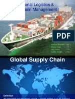 Presentation - International Logistics & Supply Chain Management
