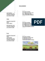 final sheet of QS