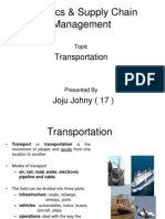 Joju - Logistics & Supply Chain Management