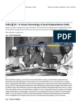 India @ 64 - A Visual Chronology of Post-Independence India - Yahoo!