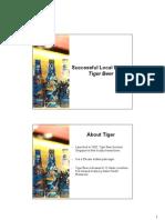 University Toasteeyogs Tiger Beer Presentation