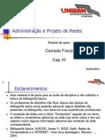 RED010 - Cap.10 - Camada Fisica 20110101