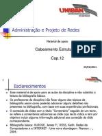RED012 - Cap.12 - Cabeamento Estruturado 20110125