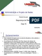 RED015 - Cap.15 - Segurança de Redes 20110101