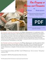 Antony & Cleopatra - Shakespeare