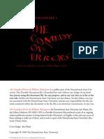 Comedy of Errors - Shakespeare