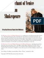 Merchant of Venice - Shakespeare