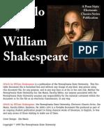 Othello - Shakespeare