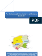Contaminacion en Chimbote