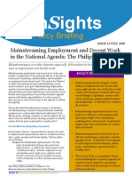 Mainstreaming Employment