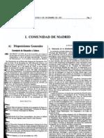 Decreto 113/1993 declaración de Bien de Interés Cultural a las Terrazas del Manzanares