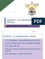 UNIDAD 5 Organizacion Virtual