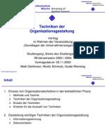 Orga_Techniken der Organisationsgestaltung