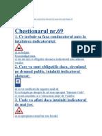 SubjectChestionar Permis Auto-ARGES