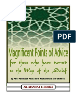 Magnificent points of advice