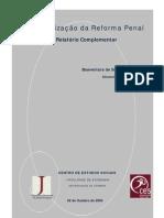 Relatório da Reforma Penal