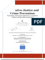 Restorative Justice and Crime Prevention Final Report