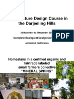 8th Annual Permaculture Design Certification Course, Darjeeling, India