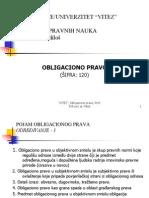 Obligaciono Pravo-ukupna Prezentacija