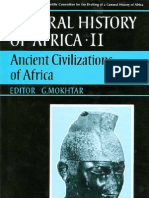 General History of Africa Vol 2