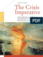 01. Crisis Rhetoric and Welfare State Reform in Belgium