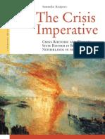 01. Crisis Rhetoric and Welfare State Reform in Belgium