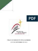 Viaje Apostolico Benedicto Xvi - Alemania
