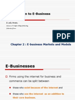 Introduction to E-Business - Chapter 2 - By John Martin