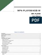 Well-play08 Manual v1 0 En