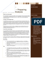 Factsheet 03 Preparing Your Critical Analysis