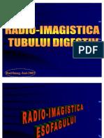 Radio Imagistica Esofagului