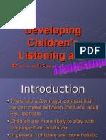 Developing Children's Listening and Speaking in ESL