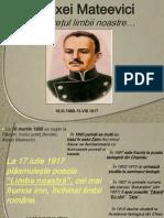 Mateevici Alexei - Limba Noastra