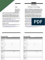 Do It Yourself Planner Tamaño Carta 2 páginas por hoja