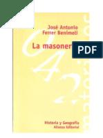 95851 La Masoneria Ferrer Benimeli