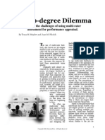 360 dilemma-  Performance or Development
