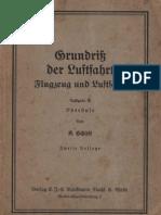 Grundriß der Luftfahrt - Flugzeuge und Luftschiffe / K. Schütt