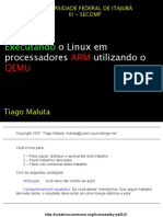 Executando Linux Proc Arn via Qemu
