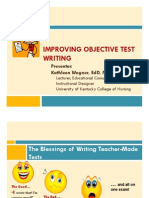 Improving Obj Test Writing p1