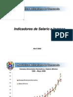 Aumento de Salario en Cifras