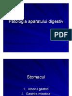 Patologia aparatului digestiv