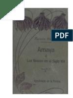 Amaya ó los Vascos en el Siglo VIII